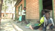 Stock Video Footage of Children Prepare dinner in Kitwe, Zambia