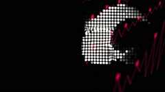 Vj Loops Club Visuals Music Backgrounds - stock footage