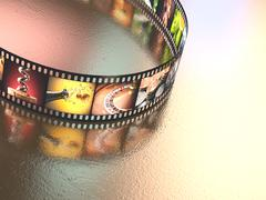 Stock Photo of Photographic Film