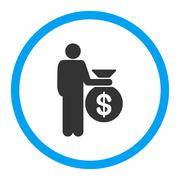 Investor icon Stock Illustration