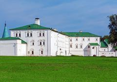 Civil Architecture of 17th. Century inside Suzdal Kremlin Stock Photos