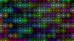 4k eye catching dancing orb modern colorful motion background Stock Footage