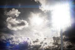 Stock Photo of Composite image of spotlight