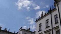 City Hall in Rzeszow Stock Footage