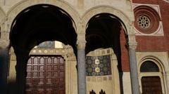 Santa Maria dei Miracoli presso San Celso in Milan Stock Footage