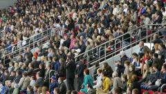 Stadium Crowd - stock footage