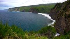 The Kona Coast on the Big Island of Hawaii - stock footage
