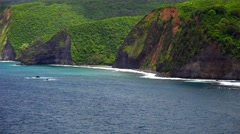 The Kona Coast on the Big Island of Hawaii Stock Footage