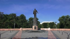 The Monument to the Conquerors of Space in Moscow, Russia. - stock footage