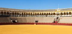 Bullring in Sevilla Stock Photos