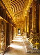 Shwenandaw Kyaung wooden palace, Mandalay, Myanmar - stock photo