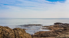 Sea Ledges Stock Footage