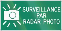 Stock Illustration of Surveillance By Radar Photo In Canada