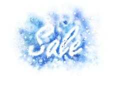 Stock Illustration of Winter Sale sign