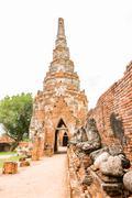 Wat Chaiwatthanaram , Ayutthaya  Thailand Stock Photos