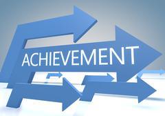 Achievement - stock illustration