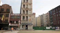 Canal Street - stock footage