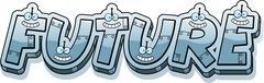 Cartoon Future Text - stock illustration