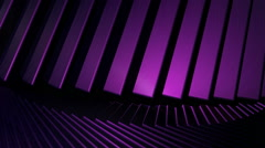 violet cube repetition - stock footage