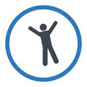 Stock Illustration of Joy icon