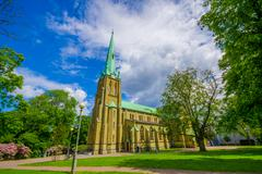 Haga church in downtown Gothenburg - stock photo