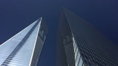 One World Trade Center (Freedom Tower). Nyc - stock footage