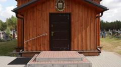 Church of St. Kosma and Damian in Czeremcha Stock Footage