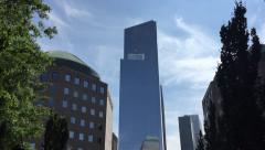 One World Trade Center (reflection) NYC - stock footage