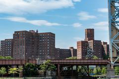 Public Housing, NYC Stock Photos