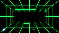 Digital tunnel (seamless loop) Stock Footage