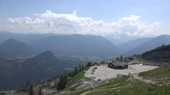 4k Amazing alps panorama view Loser mountain Austria Stock Footage