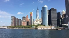 One World Trade Center (Freedom Tower) New York Stock Footage
