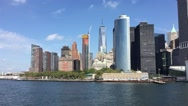 Stock Video Footage of One World Trade Center (Freedom Tower) New York