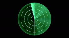 Radar (seamless loop) Stock Footage