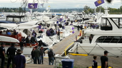 Tailgate Party, Football, College Football, Sailgate Stock Footage
