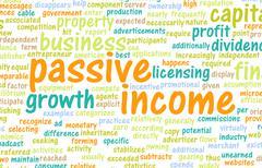 Passive Income Stock Illustration