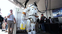 NASA Valkyrie Robot Shuts Down Stock Footage
