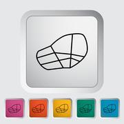 Muzzle icon Stock Illustration