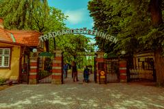 Tradgardsforeningen, the Garden Society park in downtown Gothenburg - stock photo
