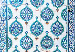 Blue Tiles - stock photo