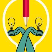 Stock Illustration of bulb idea