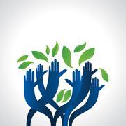 green care - stock illustration