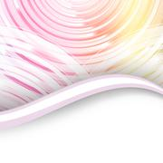 Stock Illustration of wavy abstract background