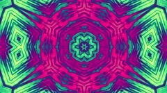 kaleidoscope psy trance - stock footage