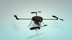 Drone, multicopter, quadrotor, uav, quadcopter Stock Footage