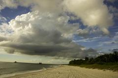 Beach at Naples Florida - stock photo