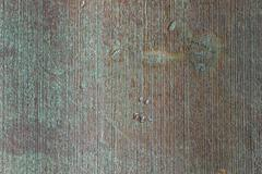 Cast iron patina surface texture background - stock photo