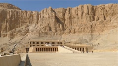 Famous ancient temple of Hatshepsut in Egypt, 4k Stock Footage