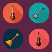 Musical instrument Stock Illustration