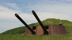 Military battery Stock Footage